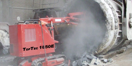1850E Stahlpfanne